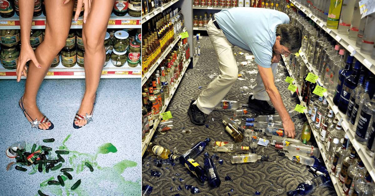 Разбитый товар в магазине, кто должен платить?