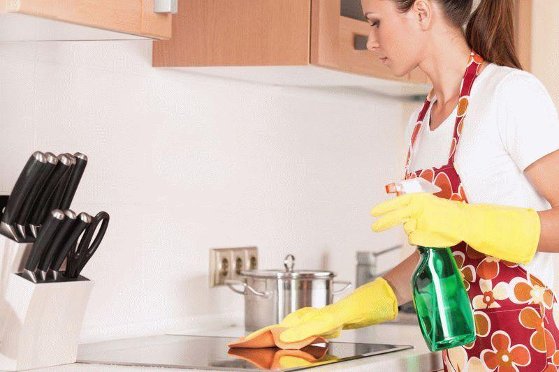 Уксус для уборки квартиры