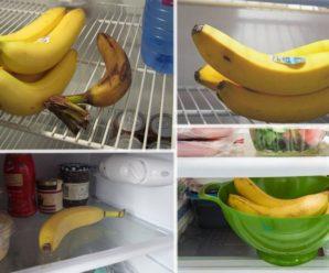 Почему бананы нельзя хранить в холодильнике?