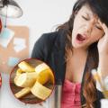 Список продуктов которые отбирают у вас энергию и вы быстро устаете.