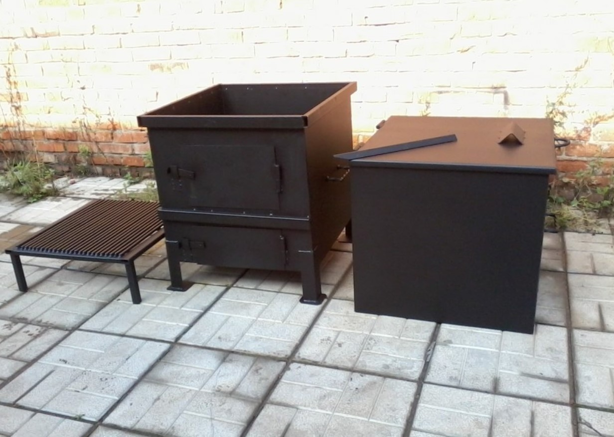 печь для сжигания мусора на даче