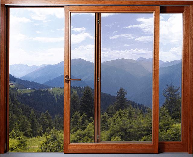 Деревянные розсувные окна