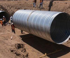 Трубы большого диаметра: виды, применение в строительстве