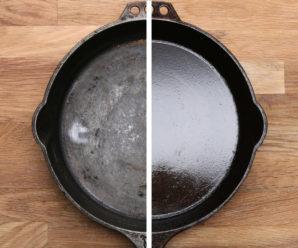 Как ухаживать за чугунной сковородкой?