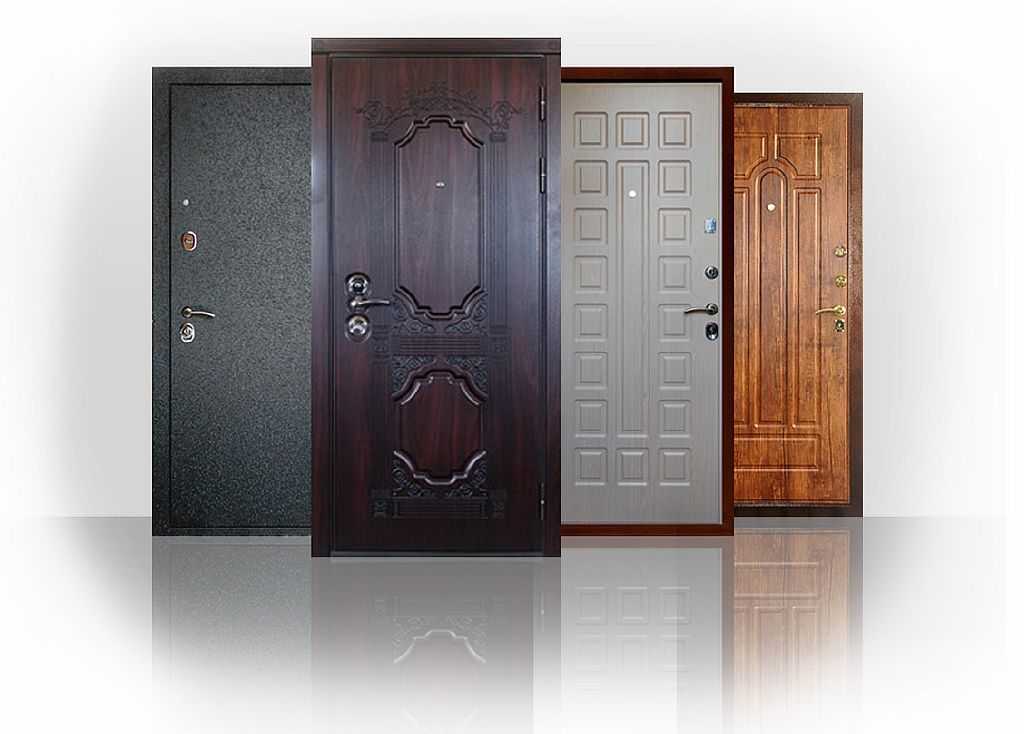 Выбор металлической входной двери