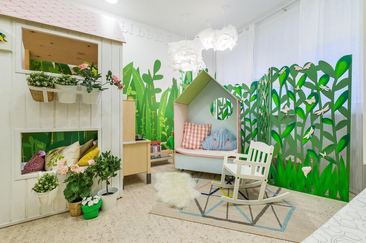 Комнатные растения в детскую