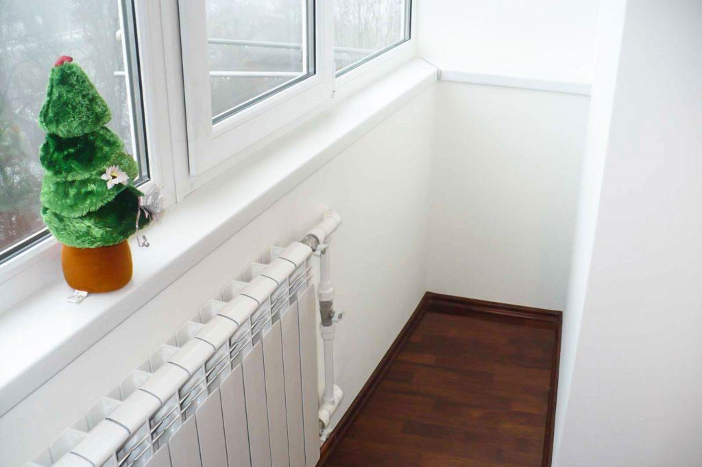 Утепления балкона