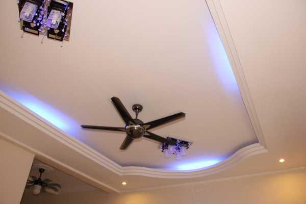 Почему стоит выбрать подвесной потолок из гипсокартона?