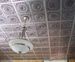 Бесшовный потолок из плитки новое веянье