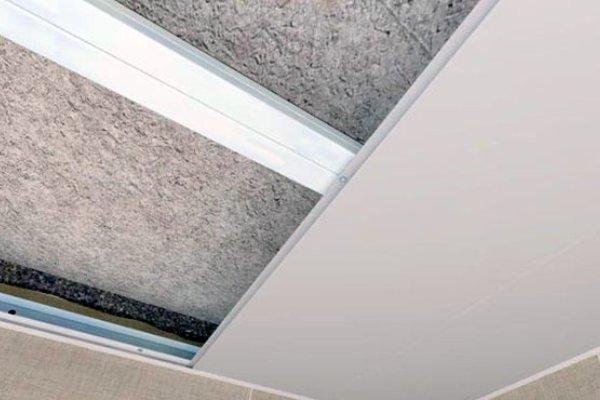 Обрешетка для пвх панелей на потолок