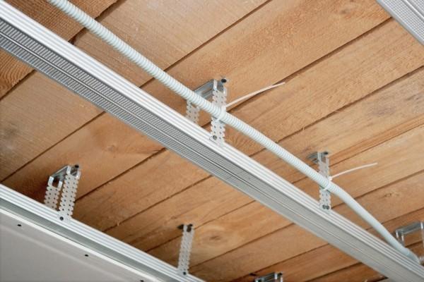 Обрешетка под гипсокартон на потолок из профиля