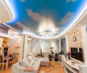 Какие натяжные потолки лучше выбрать для квартиры