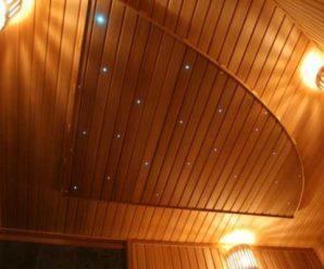 Как правильно икачественно сделать потолок из евровагонки