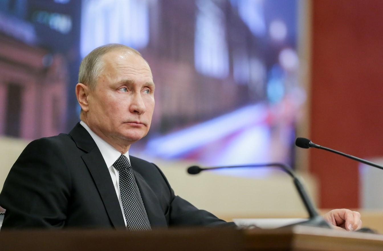 президент РФ В. В. Путин