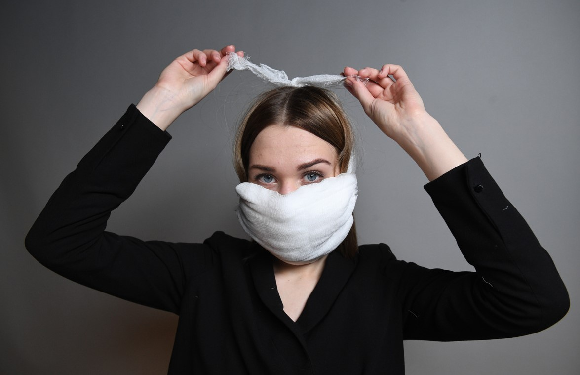 Самодельная маска