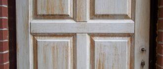 Ремонт деревянной двери