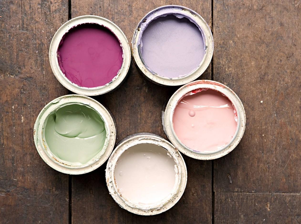 Разные цвета акриловой краски