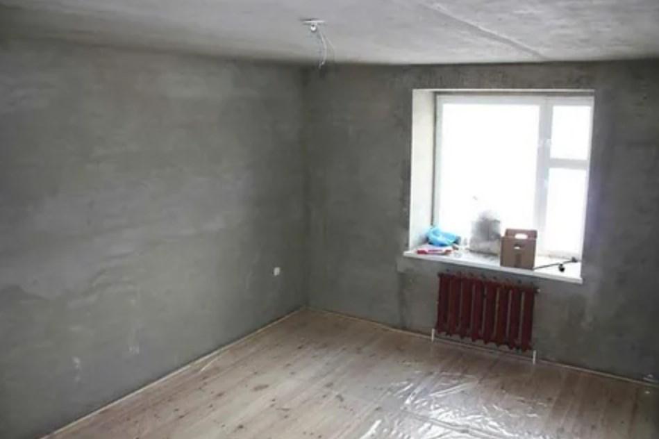 Готовая квартира к черновой отделке