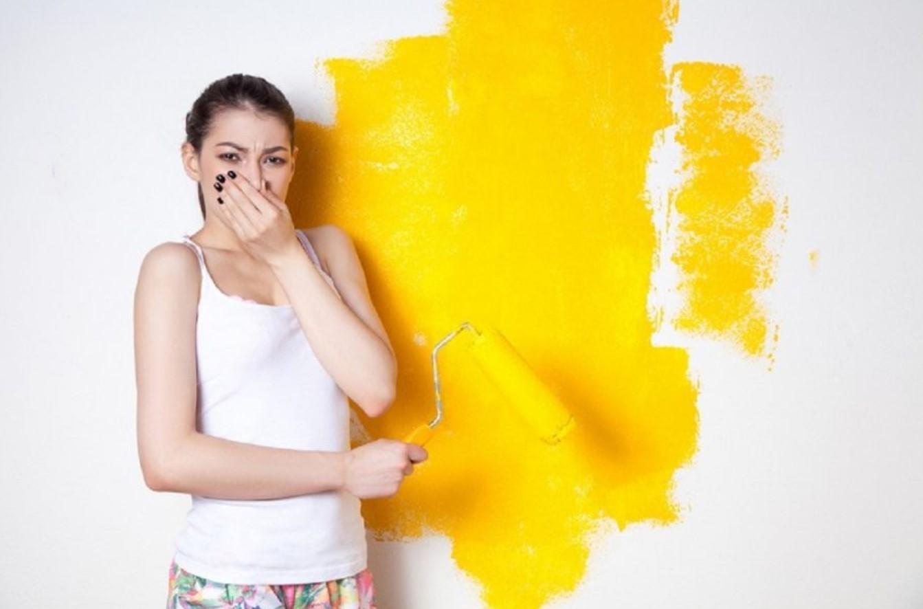 Противный запашок краски