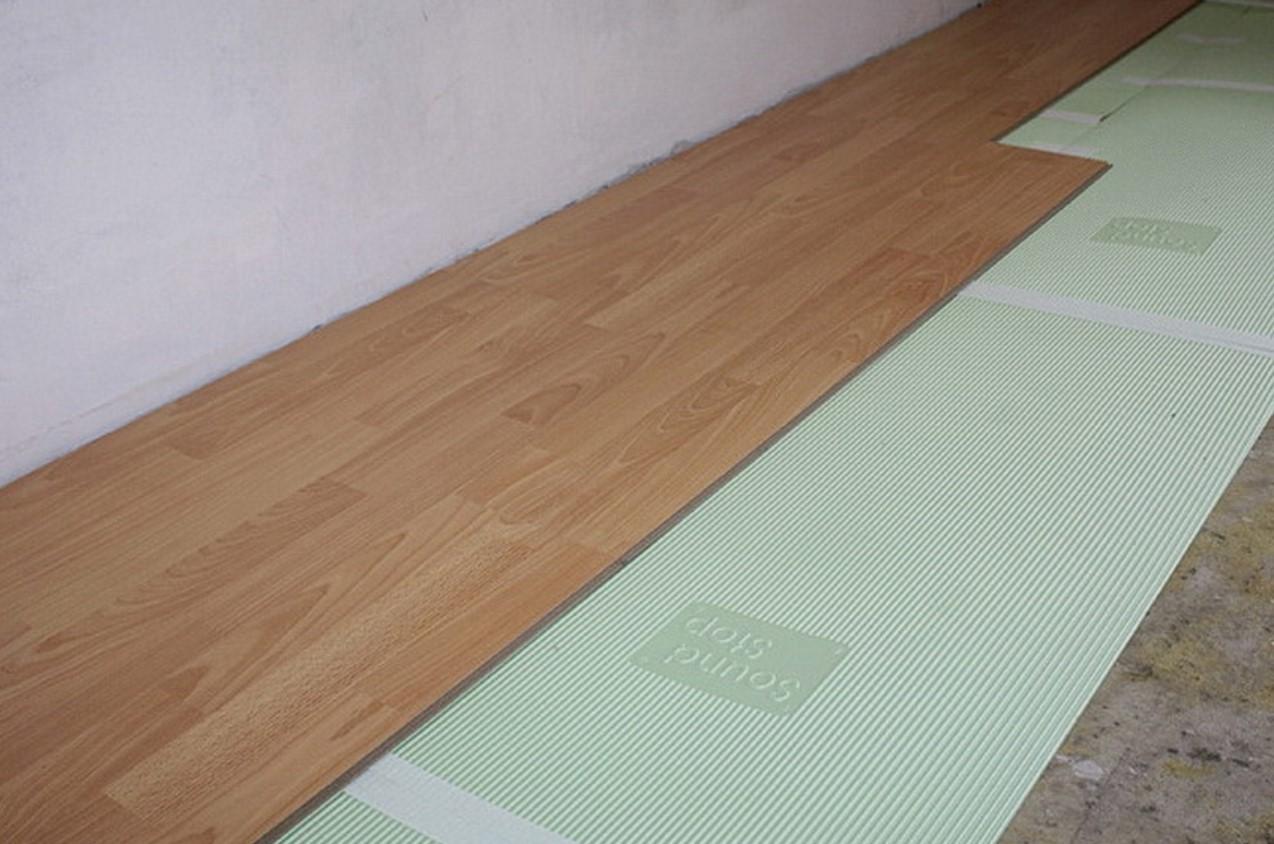 Ламинат, подложка, бетонный пол