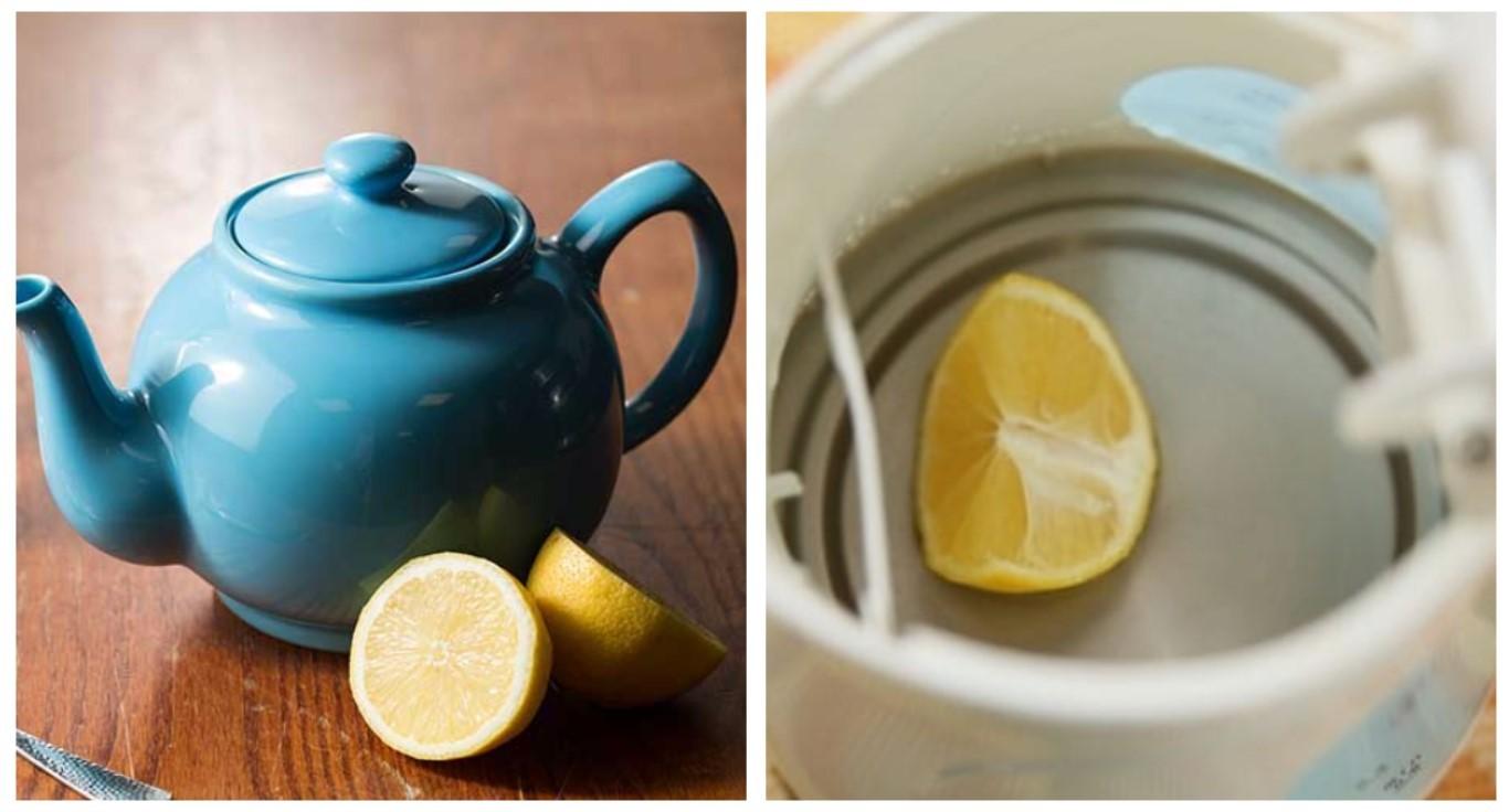Очистка лимоном