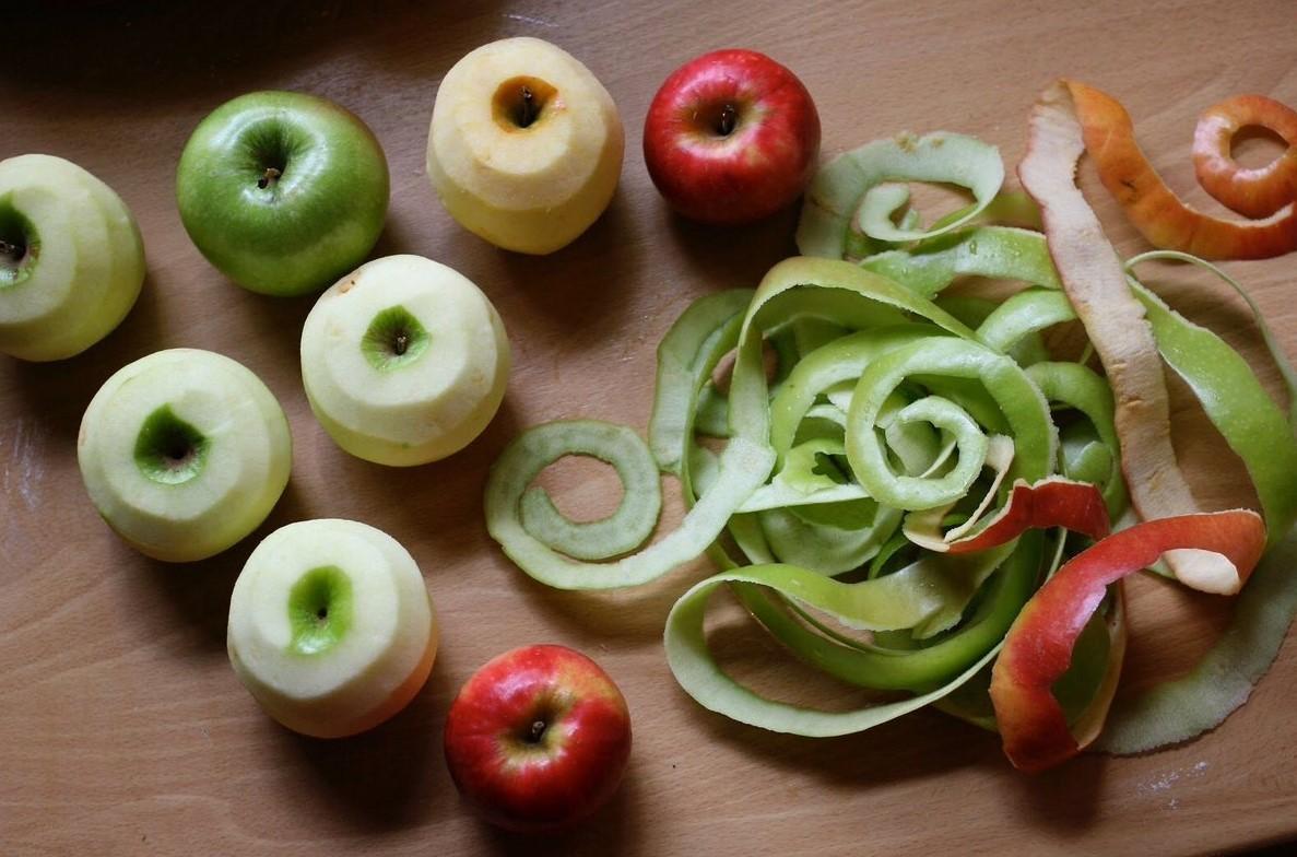 Очистки яблок