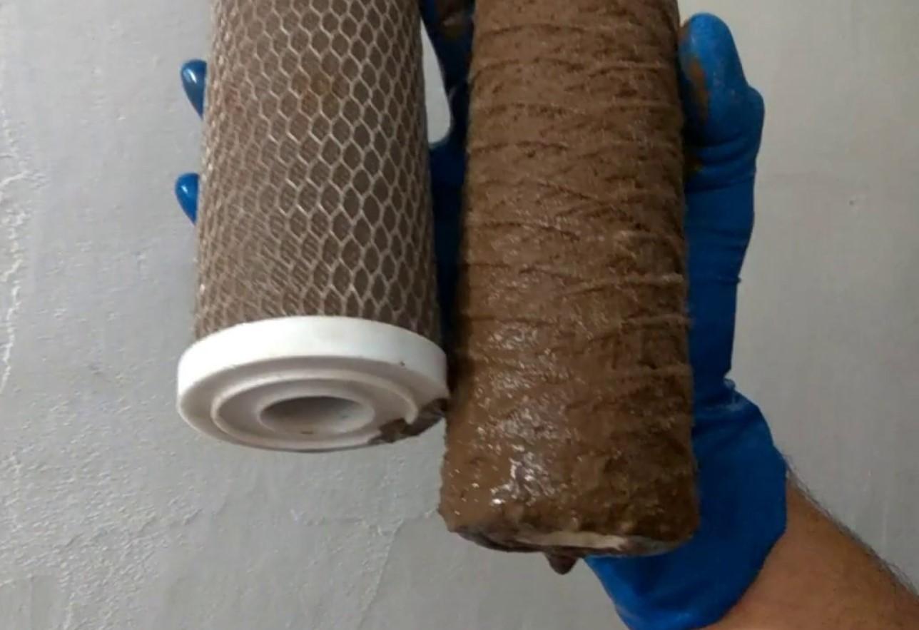 Загрязнение фильтрующего элемента