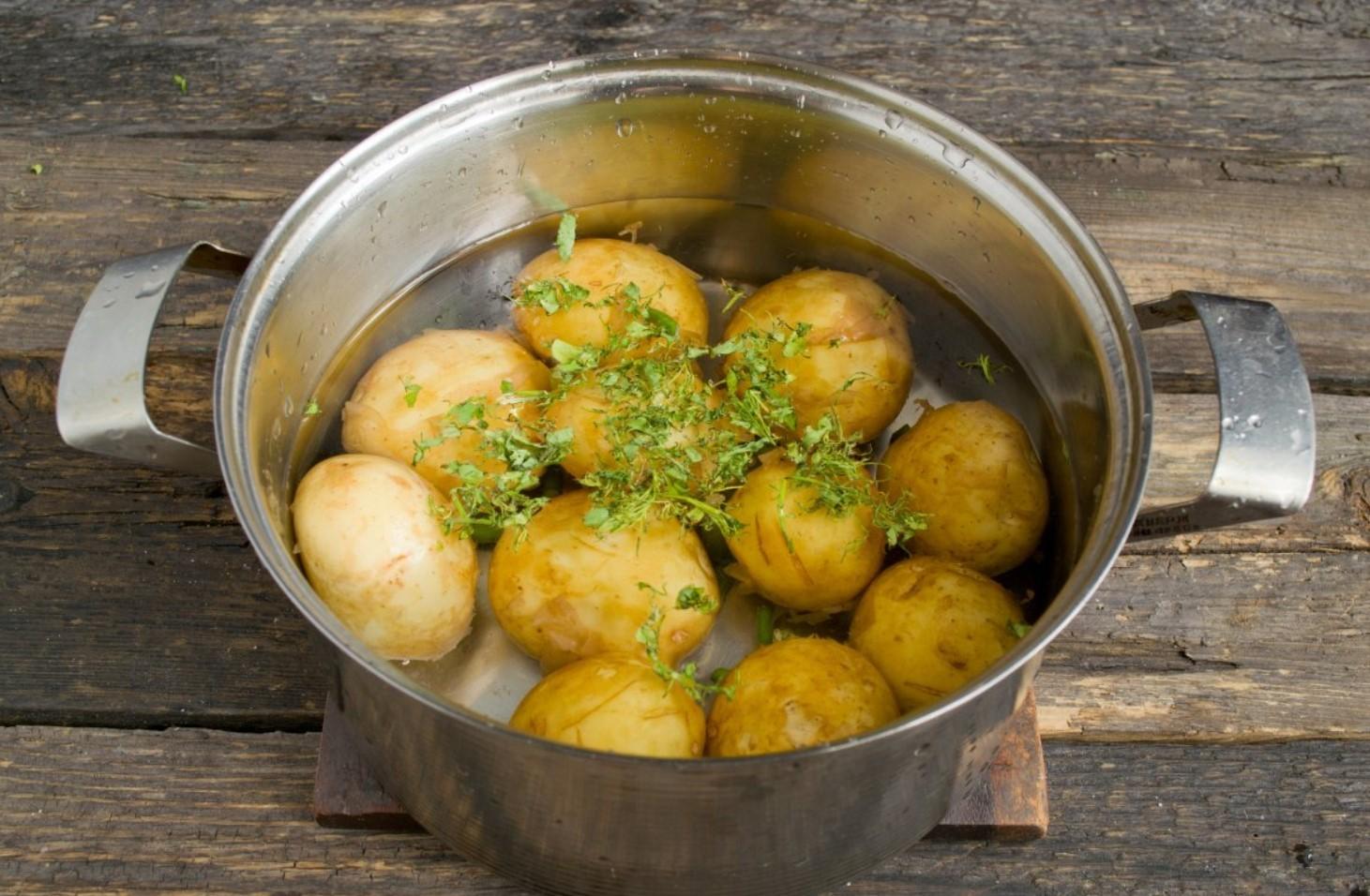 Правильно отваренный картофель