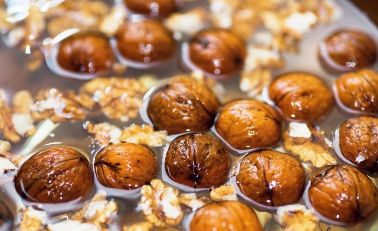 Вымачивание грецких орехов
