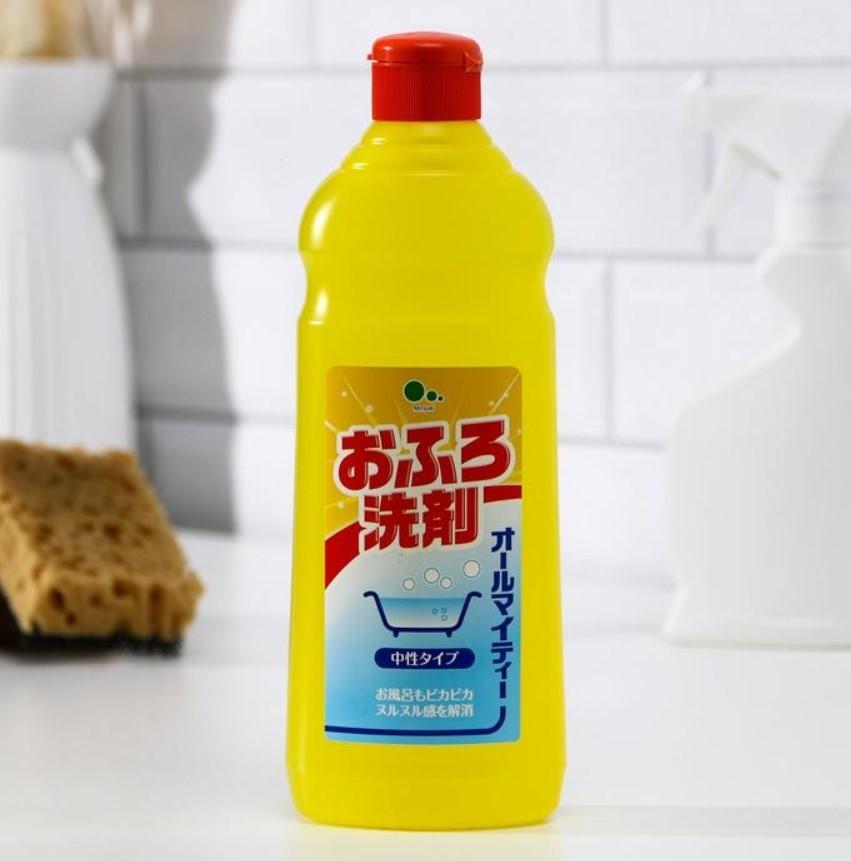 Гель для чистки ванны