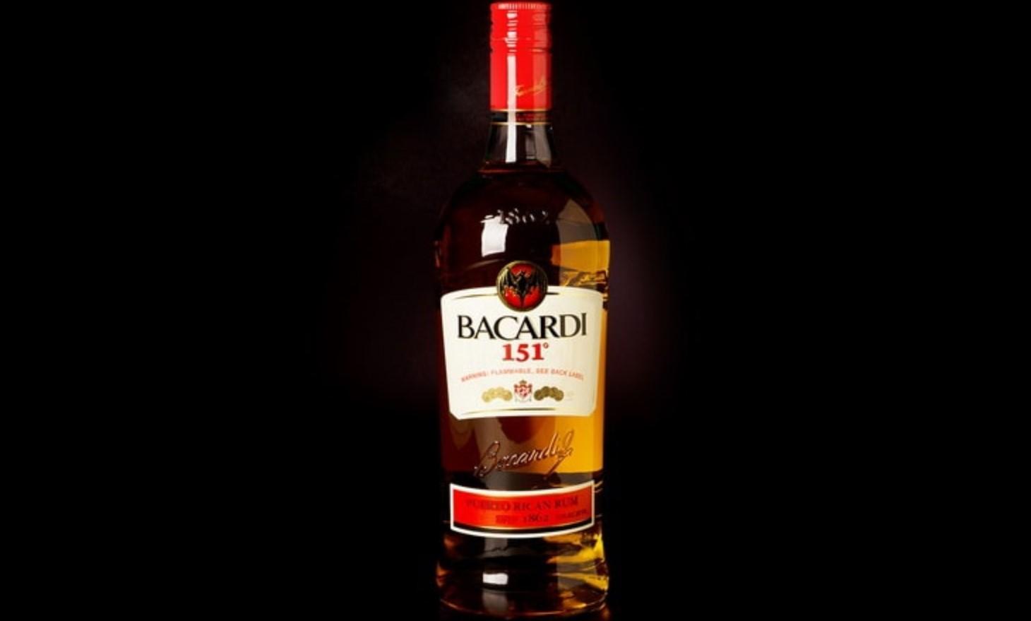 Ром Bacardi 151