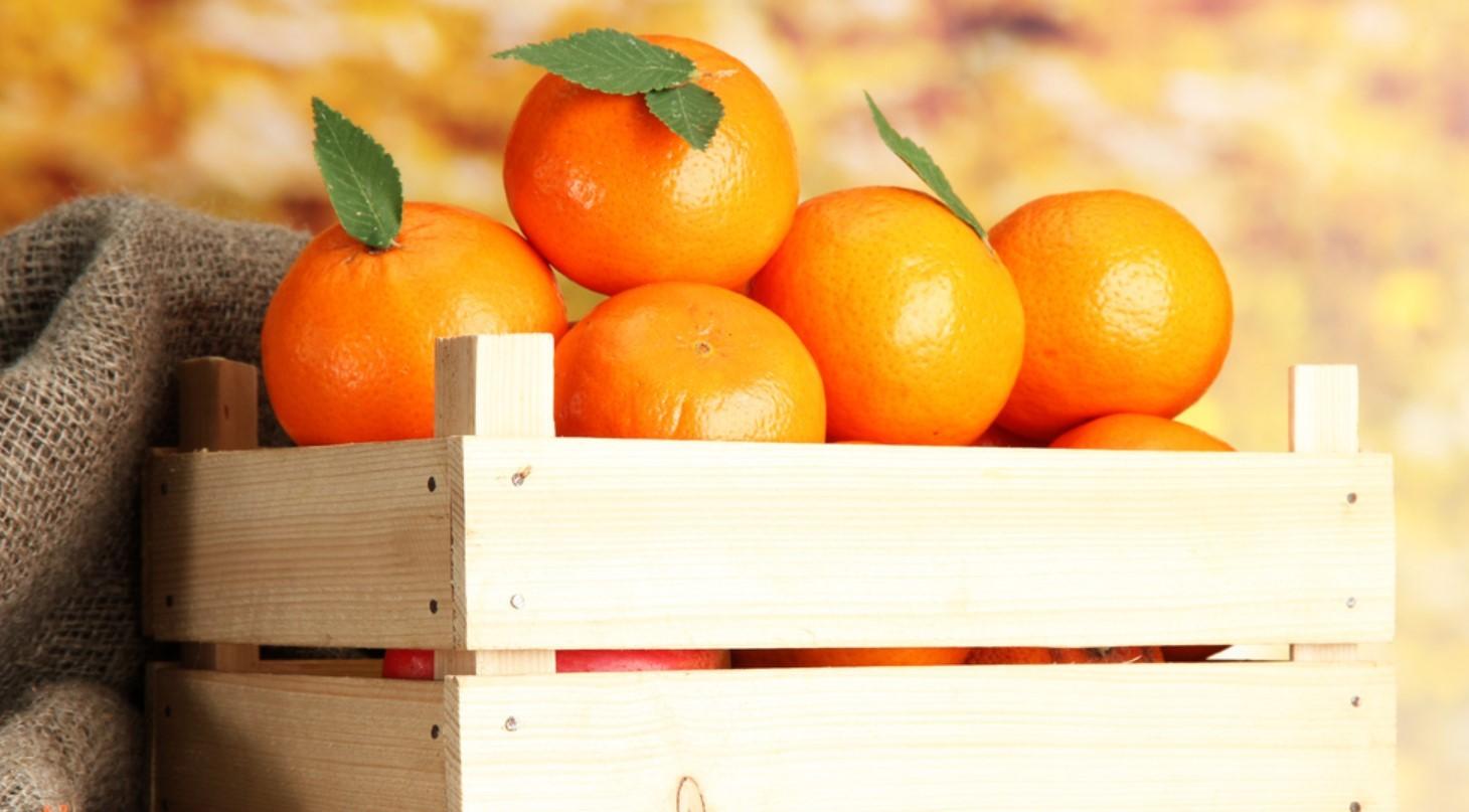 Хранения апельсинов