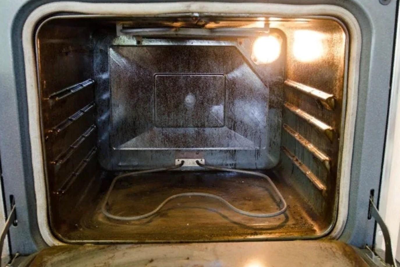 Духовка газовой плиты