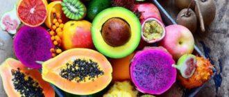 Самые вкусные фрукты