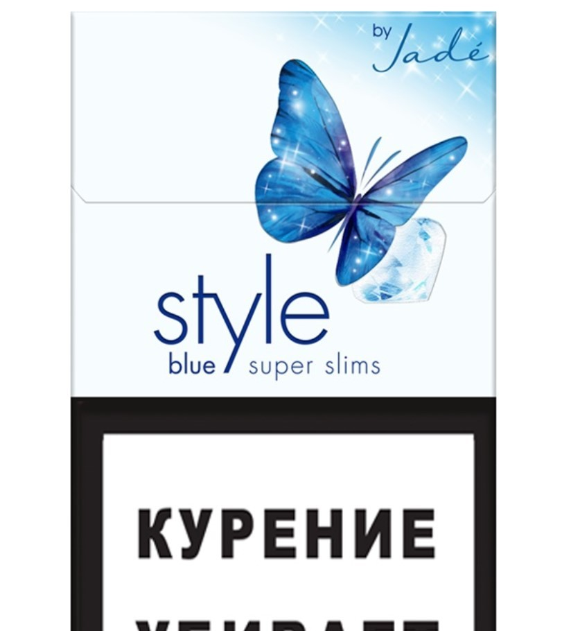 STYLE Super Slims-Blue