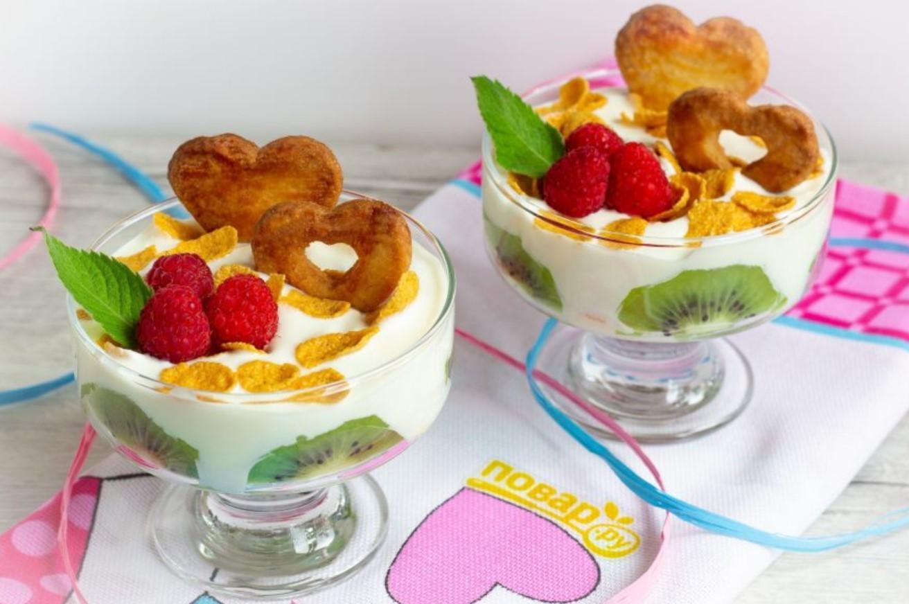 Десерт «Сердечный»