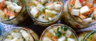 рецепты кабачков на зиму