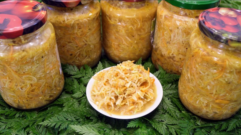 Кабачково-майонезная закуска