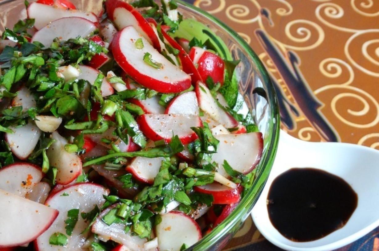 Редисовый салат