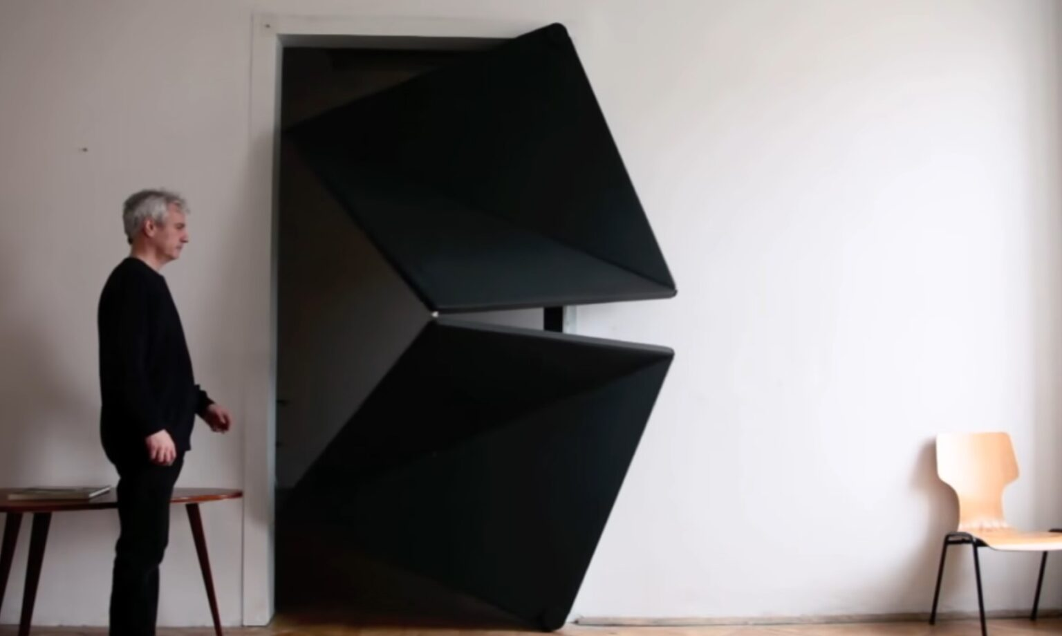 Дверь оригами