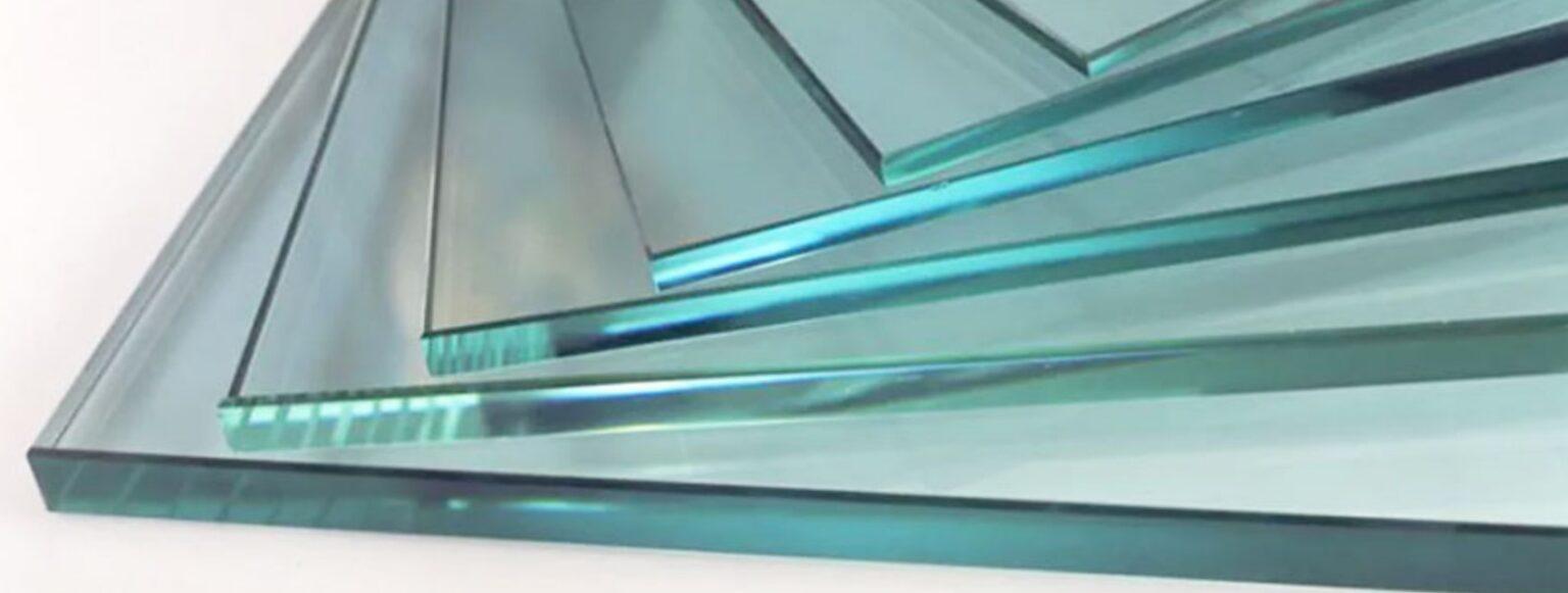 Полоса закаленного стекла