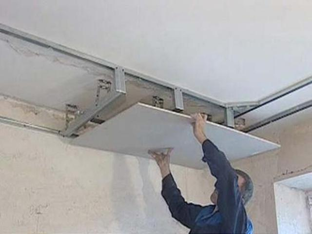 Правильный монтаж потолка из гипсокартона!