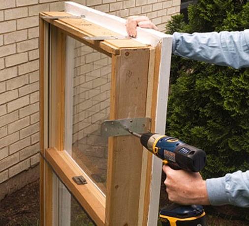 Как вставлять окна своими руками